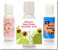 Ladybug - Personalized Baby Shower Lotion Favors
