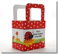 Modern Ladybug Red - Personalized Baby Shower Favor Boxes thumbnail