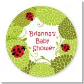 Ladybug - Personalized Baby Shower Table Confetti