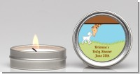 Lamb & Giraffe - Baby Shower Candle Favors