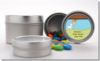 Lamb & Giraffe - Custom Baby Shower Favor Tins
