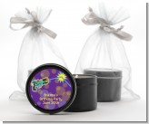 Laser Tag - Birthday Party Black Candle Tin Favors
