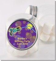 Laser Tag - Personalized Birthday Party Candy Jar