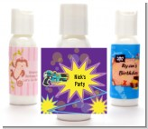 Laser Tag - Personalized Birthday Party Lotion Favors