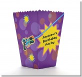 Laser Tag - Personalized Birthday Party Popcorn Boxes