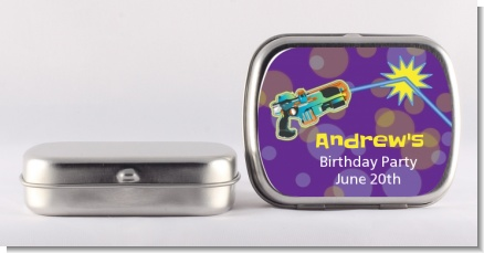 Laser Tag - Personalized Birthday Party Mint Tins