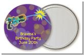 Laser Tag - Personalized Birthday Party Pocket Mirror Favors