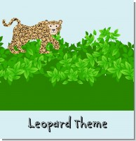 Leopard Baby Shower Theme