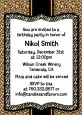 Leopard & Zebra Print - Birthday Party Invitations thumbnail