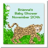 Leopard - Personalized Baby Shower Card Stock Favor Tags