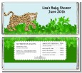 Leopard - Personalized Baby Shower Candy Bar Wrappers thumbnail