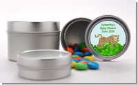 Leopard - Custom Baby Shower Favor Tins