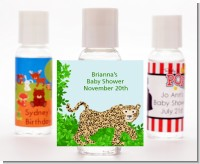 Leopard - Personalized Baby Shower Hand Sanitizers Favors