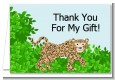 Leopard - Baby Shower Thank You Cards thumbnail