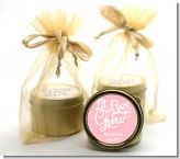 Let Love Grow - Bridal Shower Gold Tin Candle Favors