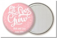 Let Love Grow - Personalized Bridal Shower Pocket Mirror Favors