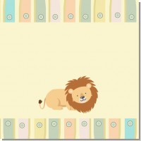 Lion Baby Shower Theme