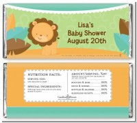 Lion | Leo Horoscope - Personalized Baby Shower Candy Bar Wrappers