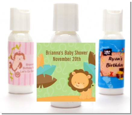 Lion | Leo Horoscope - Personalized Baby Shower Lotion Favors