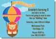 Lion - Birthday Party Invitations thumbnail