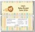 Lion - Personalized Baby Shower Candy Bar Wrappers thumbnail