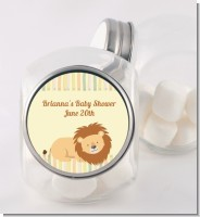 Lion - Personalized Birthday Party Candy Jar
