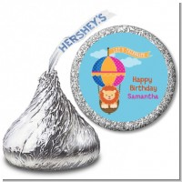 Lion - Hershey Kiss Baby Shower Sticker Labels