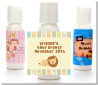 Lion - Personalized Baby Shower Lotion Favors