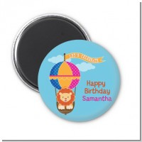 Lion - Personalized Baby Shower Magnet Favors