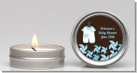 Little Boy Outfit - Baby Shower Candle Favors