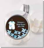 Little Boy Outfit - Personalized Baby Shower Candy Jar
