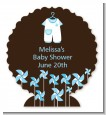Little Boy Outfit - Personalized Baby Shower Centerpiece Stand thumbnail