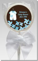 Little Boy Outfit - Personalized Baby Shower Lollipop Favors