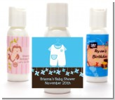 Little Boy Outfit - Personalized Baby Shower Lotion Favors