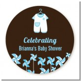 Little Boy Outfit - Personalized Baby Shower Table Confetti