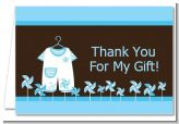 Little Boy Outfit - Baby Shower Thank You Cards