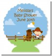 Little Cowboy - Personalized Baby Shower Centerpiece Stand thumbnail