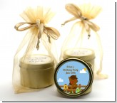 Little Cowboy Horse - Birthday Party Gold Tin Candle Favors