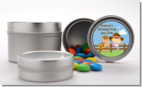 Little Cowgirl - Custom Baby Shower Favor Tins