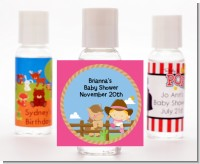 Little Cowgirl - Personalized Baby Shower Hand Sanitizers Favors