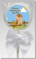 Little Cowgirl Horse - Personalized Birthday Party Lollipop Favors