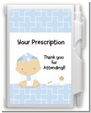 Little Doctor On The Way - Baby Shower Personalized Notebook Favor