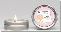Little Girl Doctor On The Way - Baby Shower Candle Favors