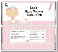 Little Girl Doctor On The Way - Personalized Baby Shower Candy Bar Wrappers