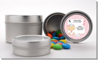 Little Girl Doctor On The Way - Custom Baby Shower Favor Tins