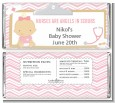 Little Girl Nurse On The Way - Personalized Baby Shower Candy Bar Wrappers thumbnail