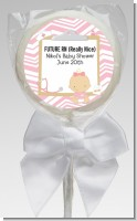 Little Girl Nurse On The Way - Personalized Baby Shower Lollipop Favors