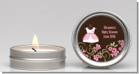 Little Girl Outfit - Baby Shower Candle Favors