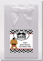 Little Man Mustache Black/Grey - Baby Shower Goodie Bags
