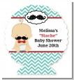 Little Man Mustache - Personalized Baby Shower Centerpiece Stand thumbnail